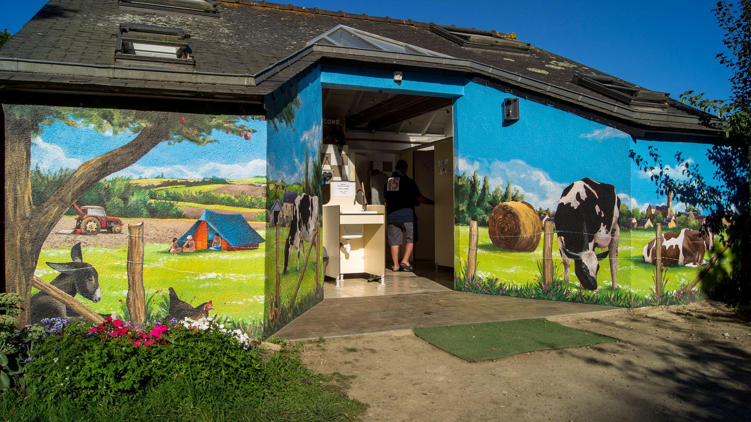 fresques murales peintures trompe l oeil d corative. Black Bedroom Furniture Sets. Home Design Ideas